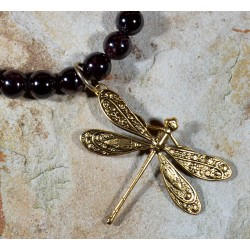 DRG7502nGA Dragonfly Necklace