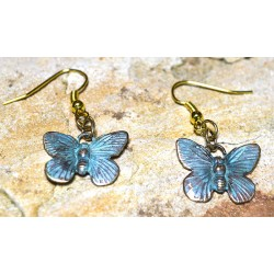 BUP129e Butterfly Earrings