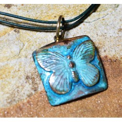 BUP129pd Butterfly Pendant