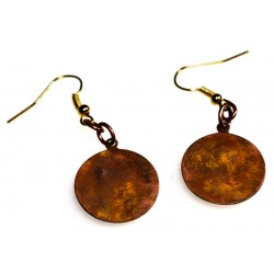 BHE25e Round Earrings