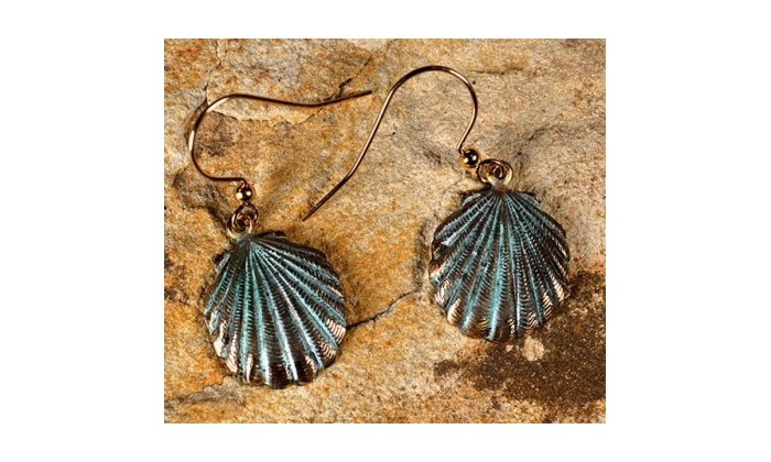 Oceania Earrings by Elaine Coyne Galleries.