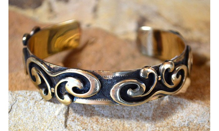 Bohemian Chic Cuff Bracelets by Elaine Coyne Galleries