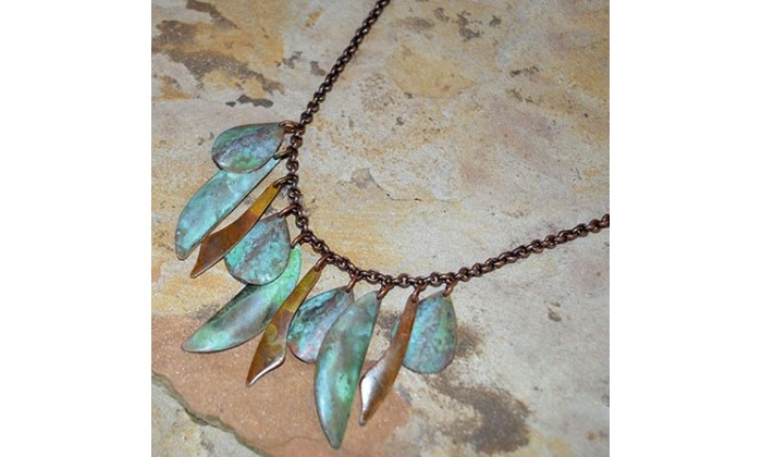 Bohemian Chic Necklaces by Elaine Coyne Galleries.
