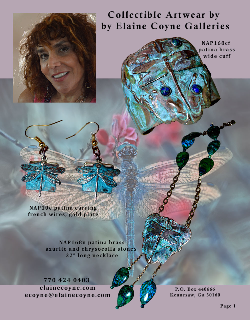 Elaine Coyne Catalog Page 1