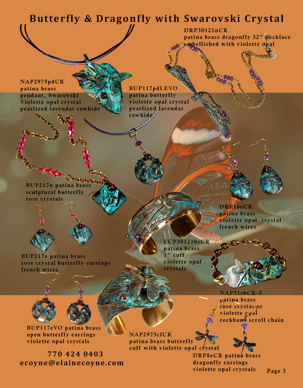 Elaine Coyne Catalog Page 3